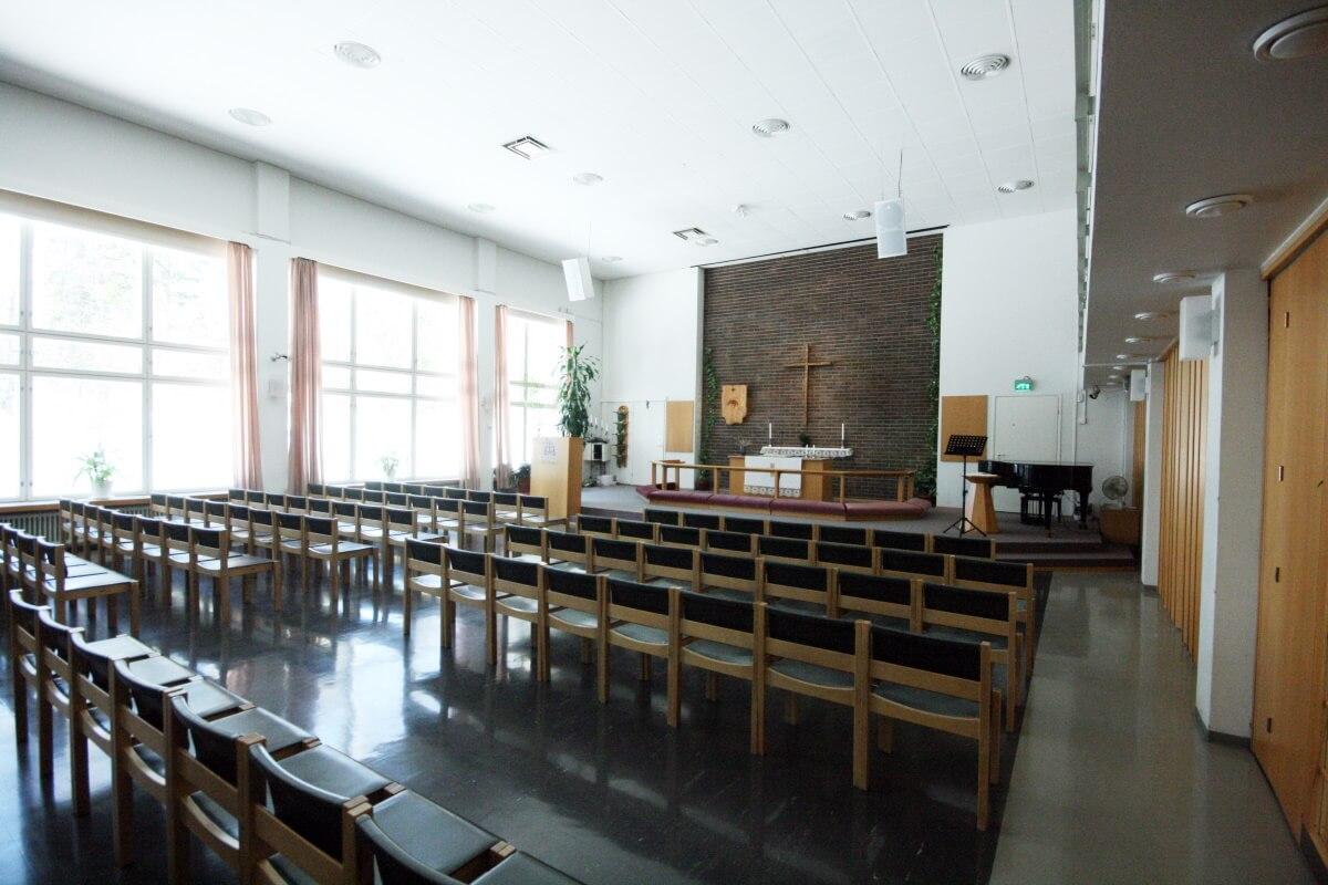 Raamattuopiston kirkkosali
