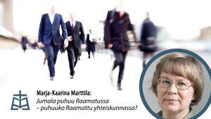 Marja-Kaarina Marttilan yleisöluento