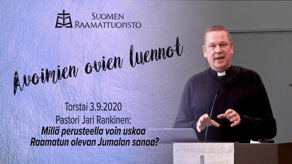 Jari Rankisen raamattuopetus