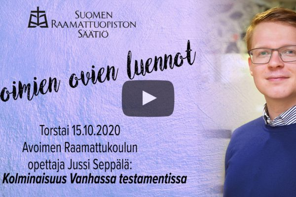 Jussi Seppälän luento kolminaisuudesta