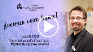 Raamattuopiston vararehtori Veli-Matti Kujalan yleisöluento Luukkaan evankeliumista